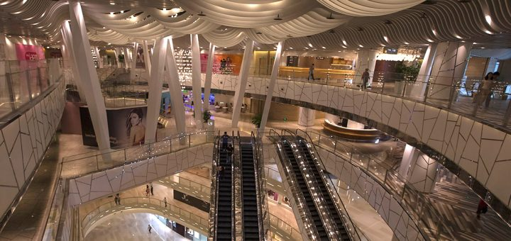 shanghai mall inside