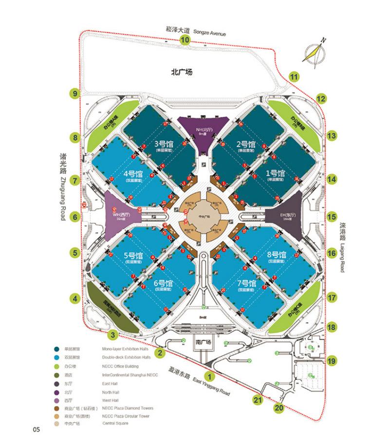 Shanghai National Exhibition Amp Convention Center Necc